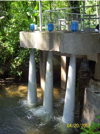 kisesésû vízturbina szívócsõ része kialakítása